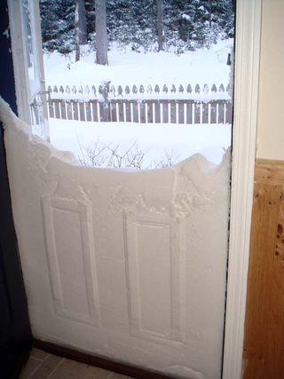 Nor'easter snowdoor 12 21 08