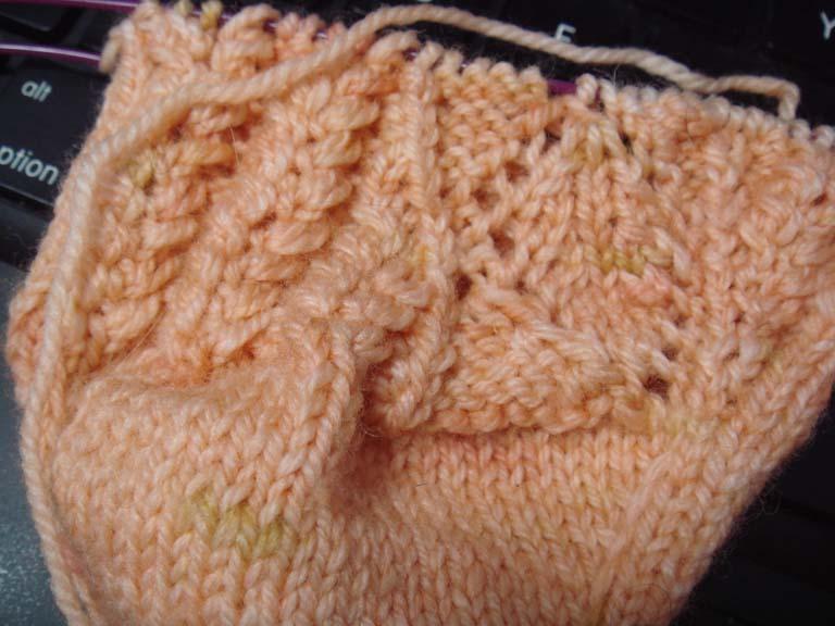SKA Orange Mystery sock