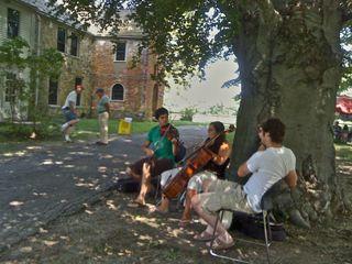 Music Trio at Fiber Revival