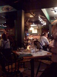 Moose at dinner