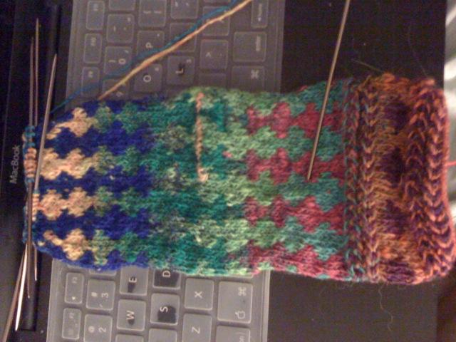Sissy's Birthday mittens