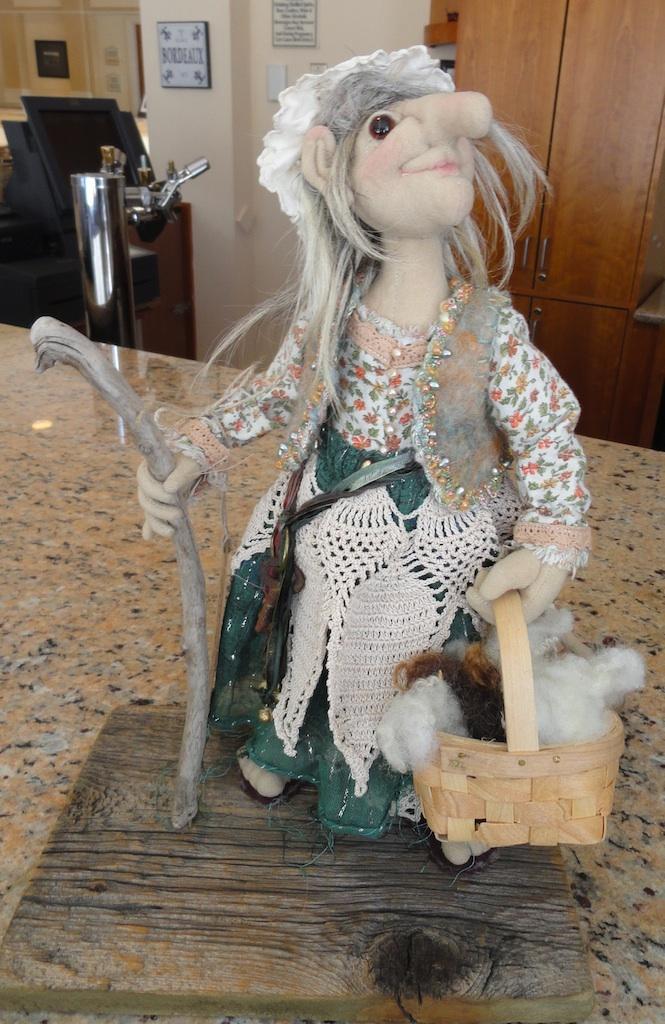 Abby from Mountain Fiber Folk