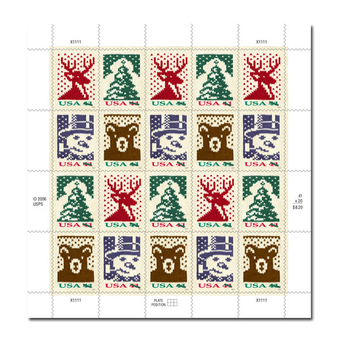 A Sheep In Wools' Clothing: Custom Postage Stamps