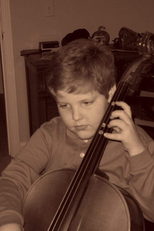 Caleb_cello_practice_sepia