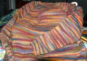 Merlin's sweater