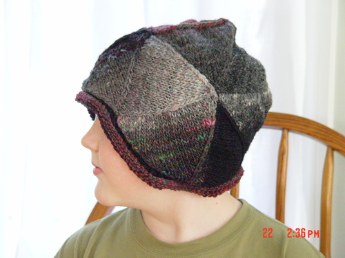 Aaron's triangle hat