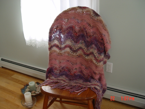 Colinette Absolutely Fabulous throw
