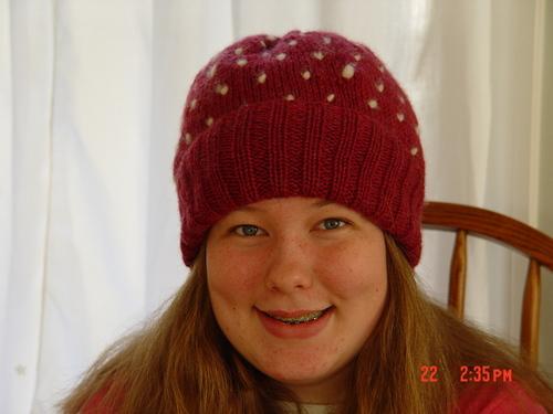 Fleece stuffed cap 2002
