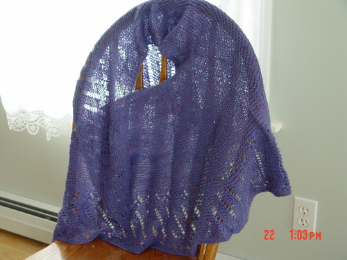 Grandmere's shawl 1988