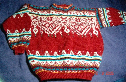 Kille's Dale of Norway pullover
