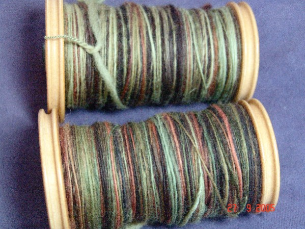 Lorna's Laces Camouflage roving singles